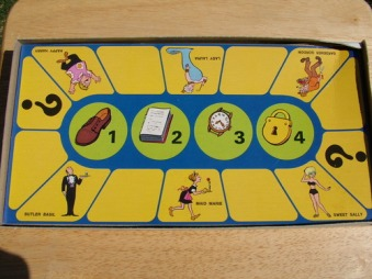 The Amazing Chan and the Chan Clan - Game board