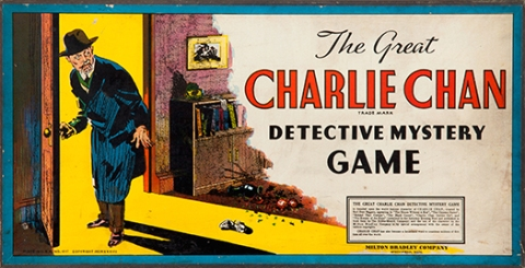 Charlie Chan Game Board